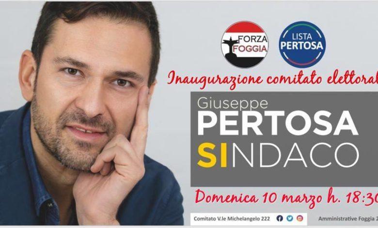 Giuseppe Pertosa Candidato Sindaco