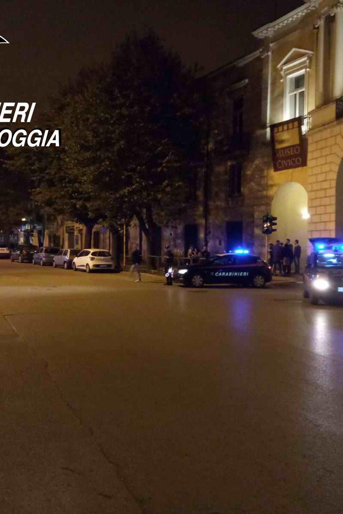 controlli centro foggia carabinieri