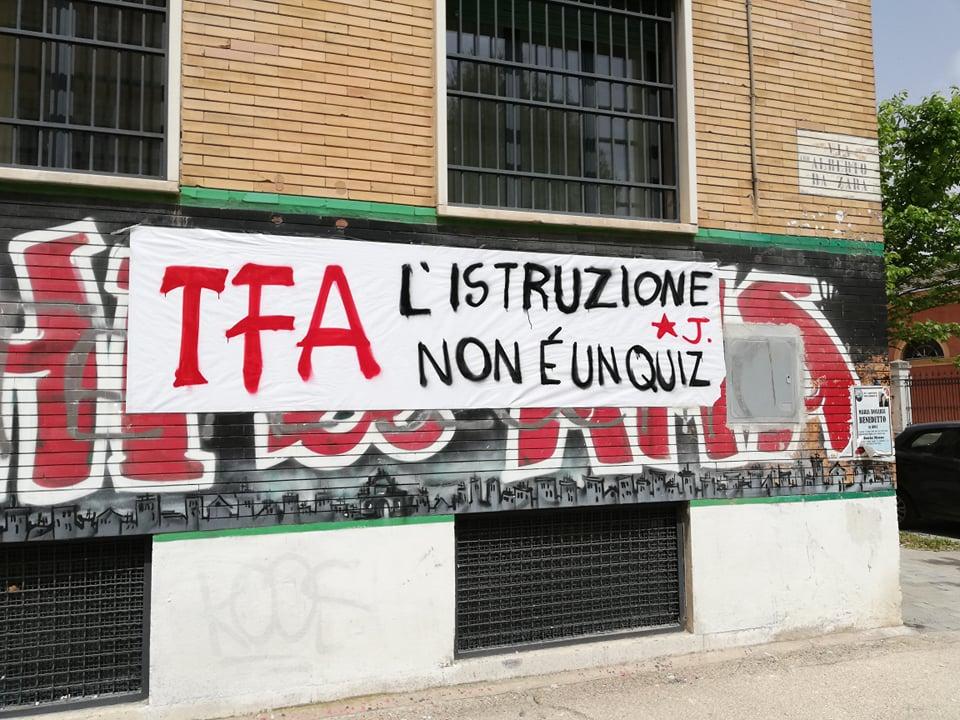 Protesta TFA