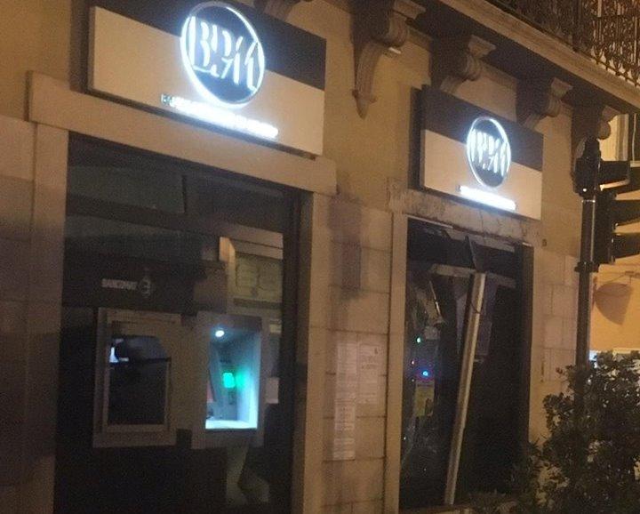 Foggia Bomba Nella Notte Colpita La Banca Popolare Di Milano In
