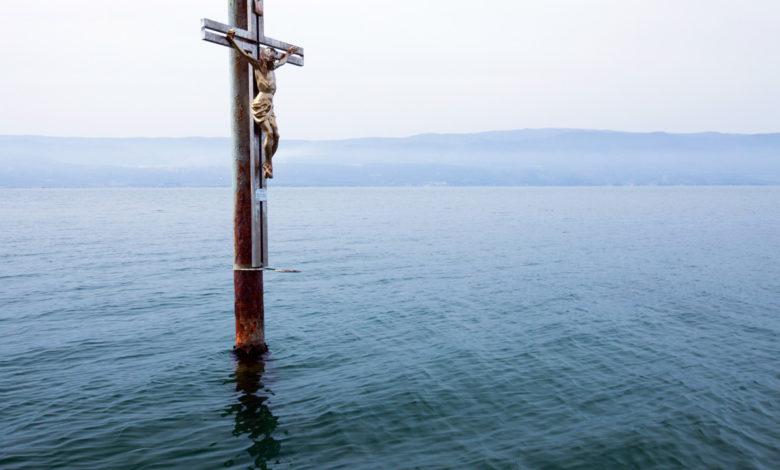 lago varano crocifisso
