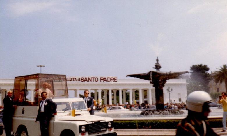 papa giovanni paolo II a Foggia