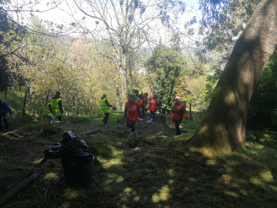 orsara di puglia volontari parco comunale