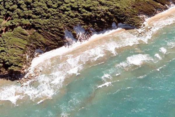 spiaggia sospetto