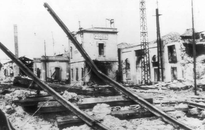 foggia bombardamenti estate 43