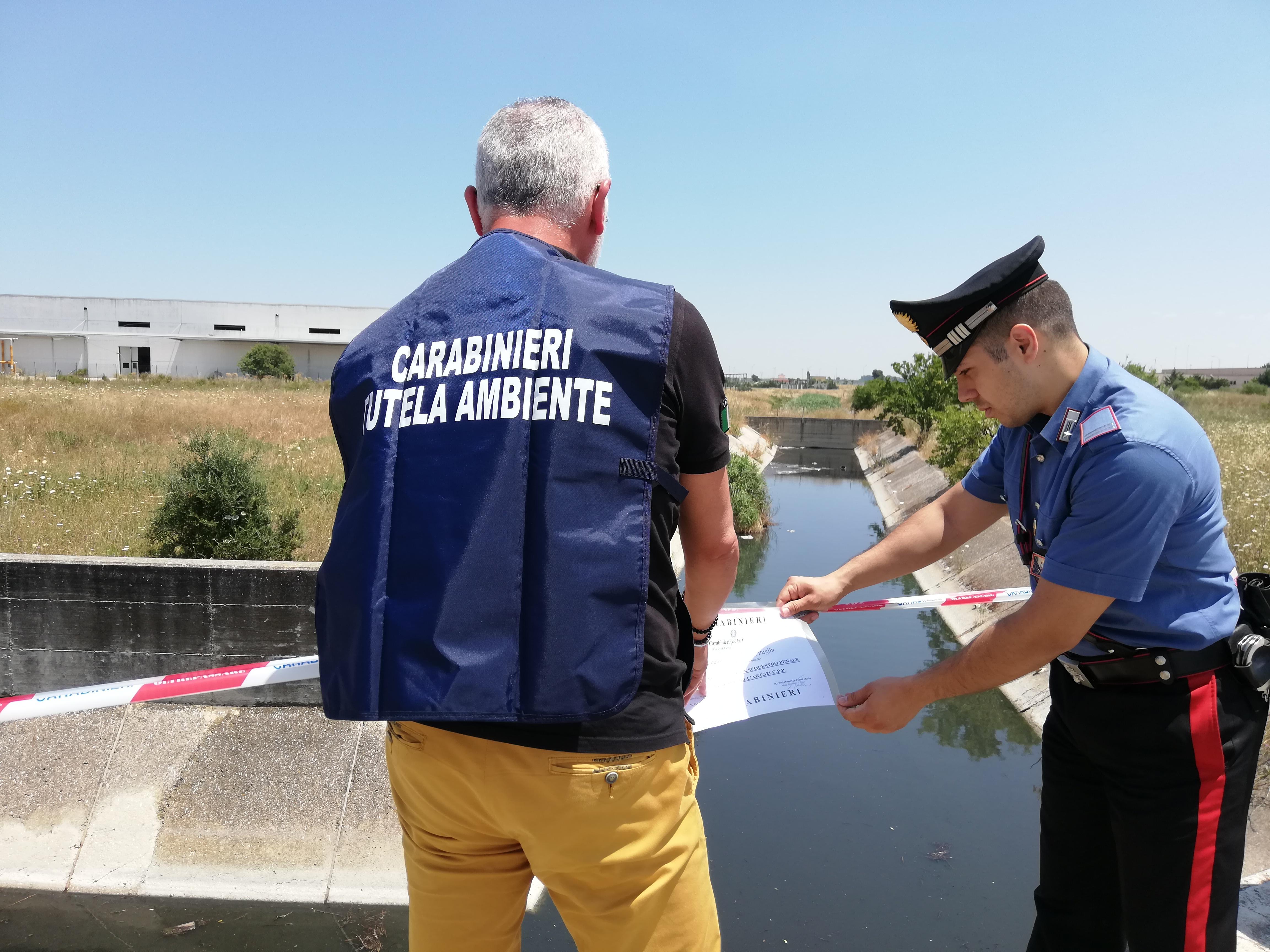 canale Lagrimaro sequestrato