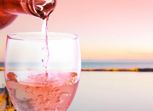 vieste en rose vini rosati di puglia