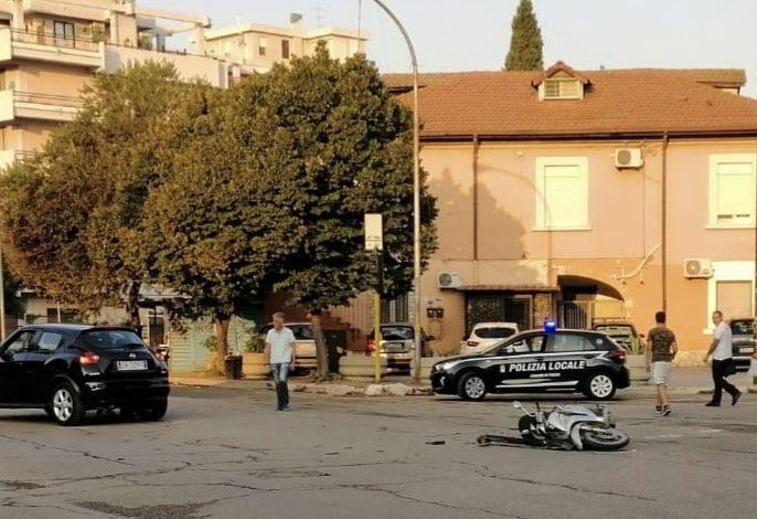 incidente stradale viale candelaro
