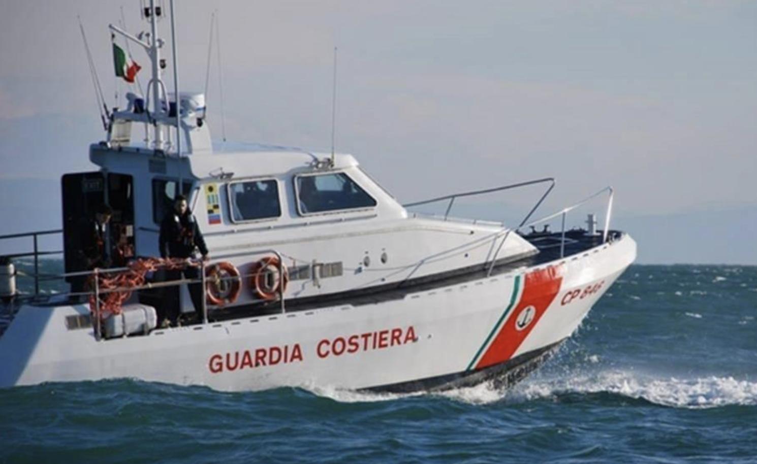 guardia costiera isole tremiti operazione mare sicuro