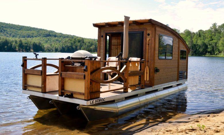 houseboat gargano