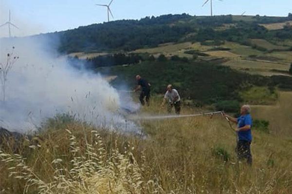 orsara incendio
