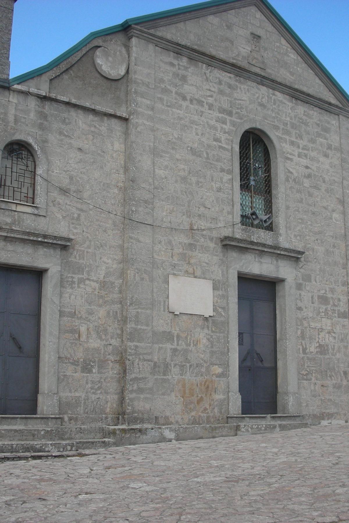 santuario madonna del carmine accadia