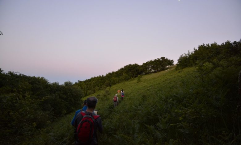 moonlight love trekking gargano