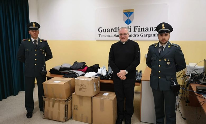 Finanzieri donano alla Caritas