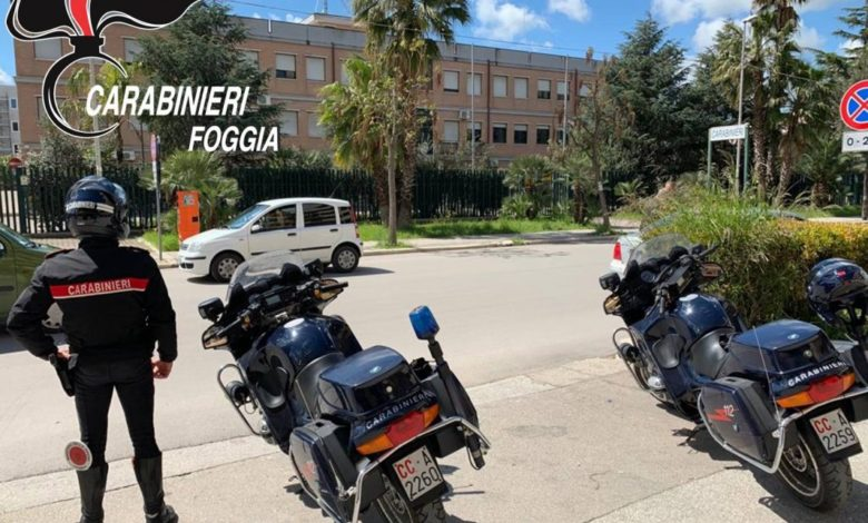 carabinieri controlli cerignola