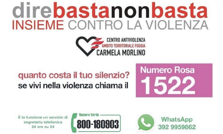 """Photo of """"direbastanonbasta"""": al via la campagna di sensibilizzazione contro la violenza sulle donne"""