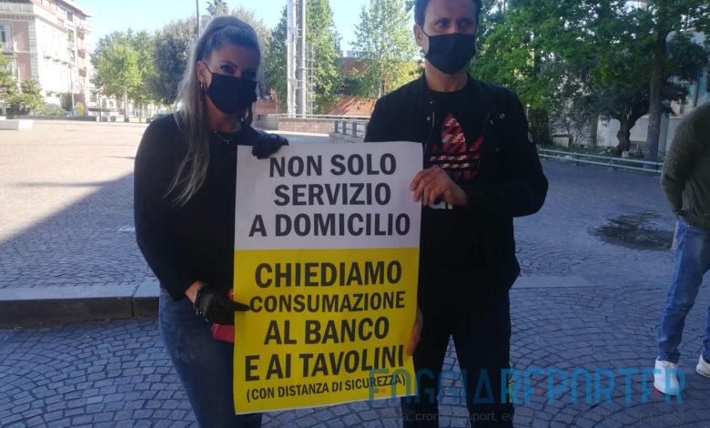 protesta baristi cerignola