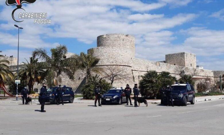manfredonia-carabinieri