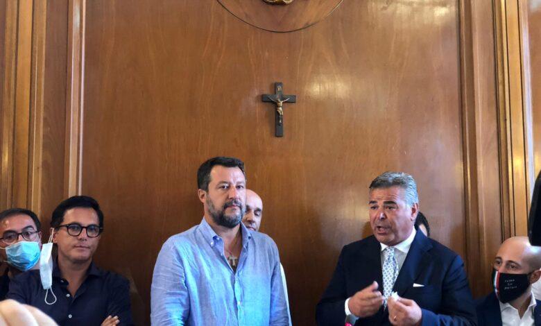 Landella e Salvini