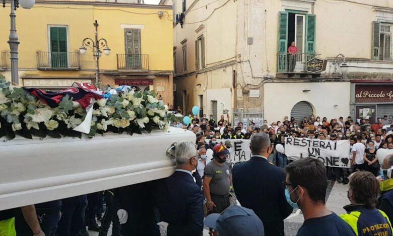foggia funerali ciro