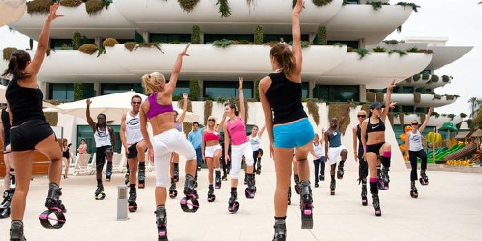 Photo of Sul Gargano l'ultima tendenza del fitness: le kangoo jumps