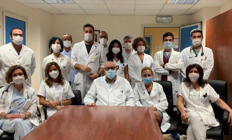 Foto équipe Chirurgia Toracica Universitaria