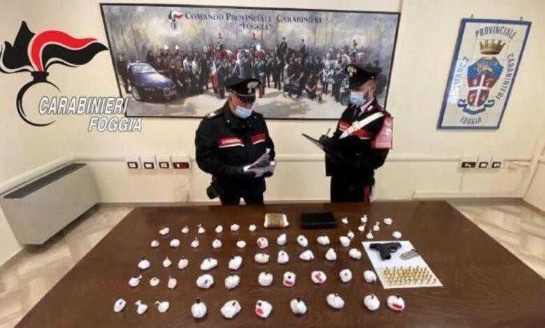 foggia droga carabinieri