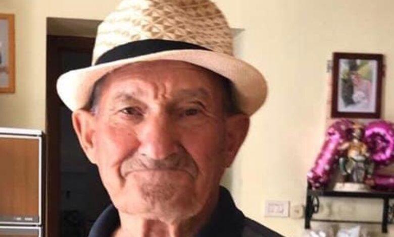 anziano scomparso