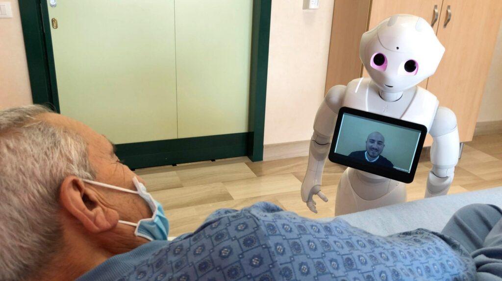 casa sollievo robot