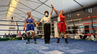 Photo of Simona Nardillo di San Severo è Campionessa italiana di Boxe juniores nella categoria 66 kg