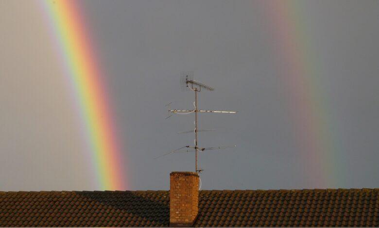 Photo of Un doppio arcobaleno ha colorato i cieli di Foggia