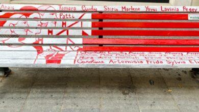 """Photo of A Foggia una panchina rossa su Corso Vittorio Emanuele. Landella: """"Uno stimolo per le donne ad agire"""""""