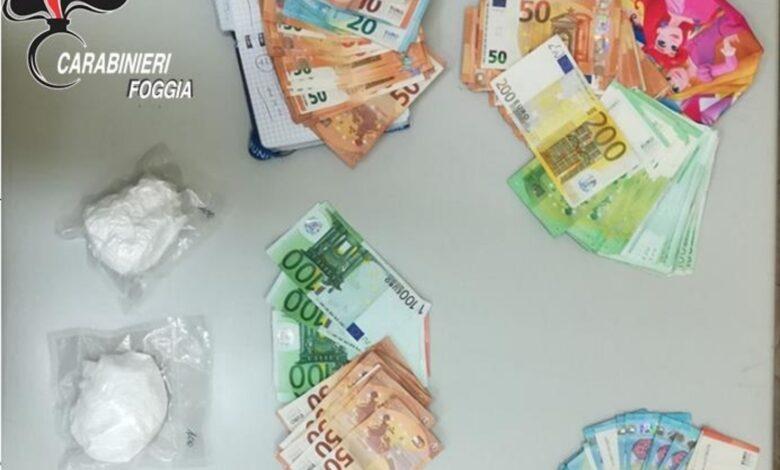 san paolo di civitate soldi e droga