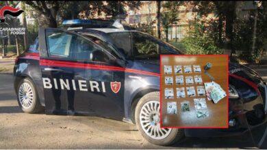 """Photo of Foggia, arrestato giovane pusher: si appostava in Piazza """"Libanese"""" per vendere la droga"""