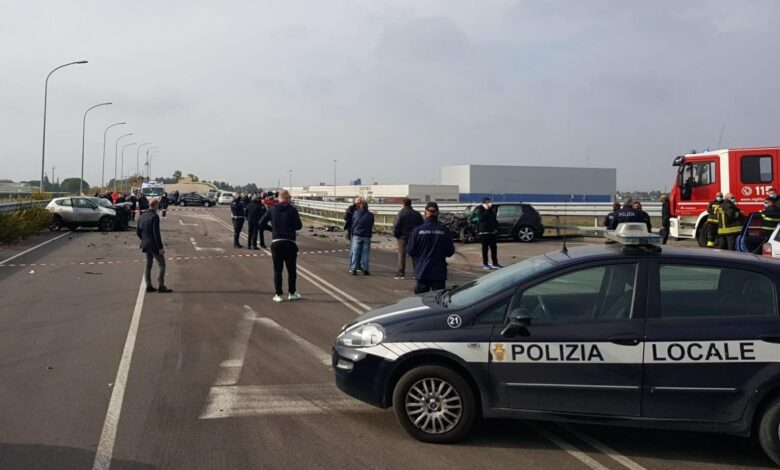 incidente foggia