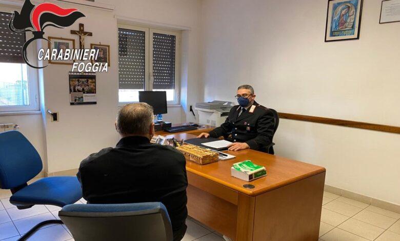 stazione carabinieri anziano derubato