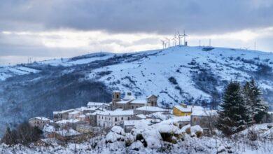 Photo of Neve sui Monti Dauni, il borgo di Faeto diventa una cartolina imbiancata