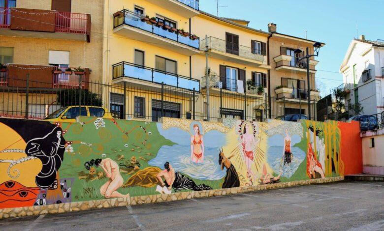 biccari murales