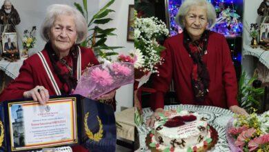 Photo of San Severo in festa per i 100 anni della signora Teresa Soccorsa Corticelli