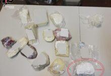 Photo of Un etto di cocaina nascosto in una busta con salumi e formaggi: in manette un 36enne