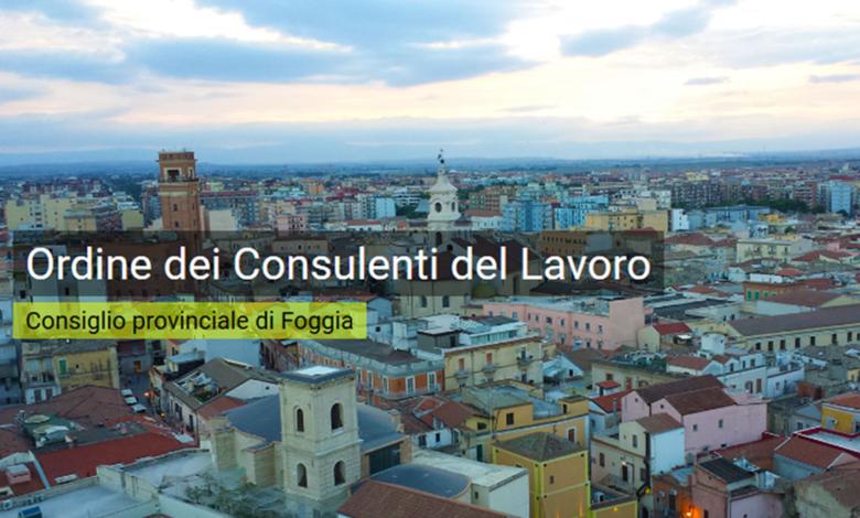 Photo of Rinnovato il Direttivo dell'ordine dei Consulenti del Lavoro della provincia di Foggia. Confermato il presidente Massimiliano Fabozzi.