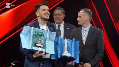 """Photo of Il foggiano Gaudiano vince Sanremo giovani 2021: """"Dedico la vittoria a mio padre"""""""
