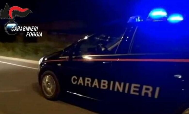 carabinieri lucera
