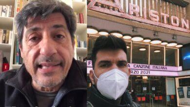 """Photo of """"Forza Gaudiano"""", lo speciale in bocca al lupo di Emilio Solfrizzi al cantautore foggiano a Sanremo"""
