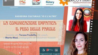 """Photo of Rassegna Culturale """"Io e l'Altro"""". La comunicazione empatica: il peso delle parole."""