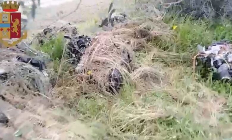 motori rubati cerignola