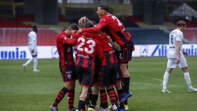 Photo of Foggia-Monopoli 1-0. Curcio a cinque minuti dal termine regala i playoff ai rossoneri