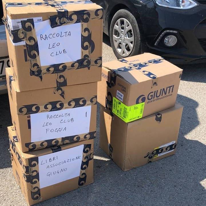 I libri sono stati spediti a due scuole della Provincia di Foggia