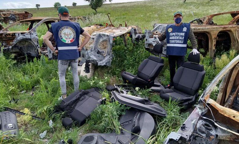 carcasse auto civilis