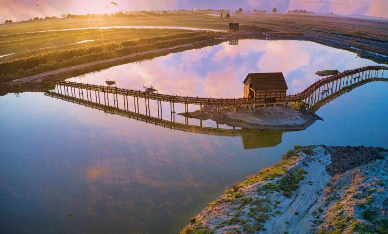 oasi laguna del re